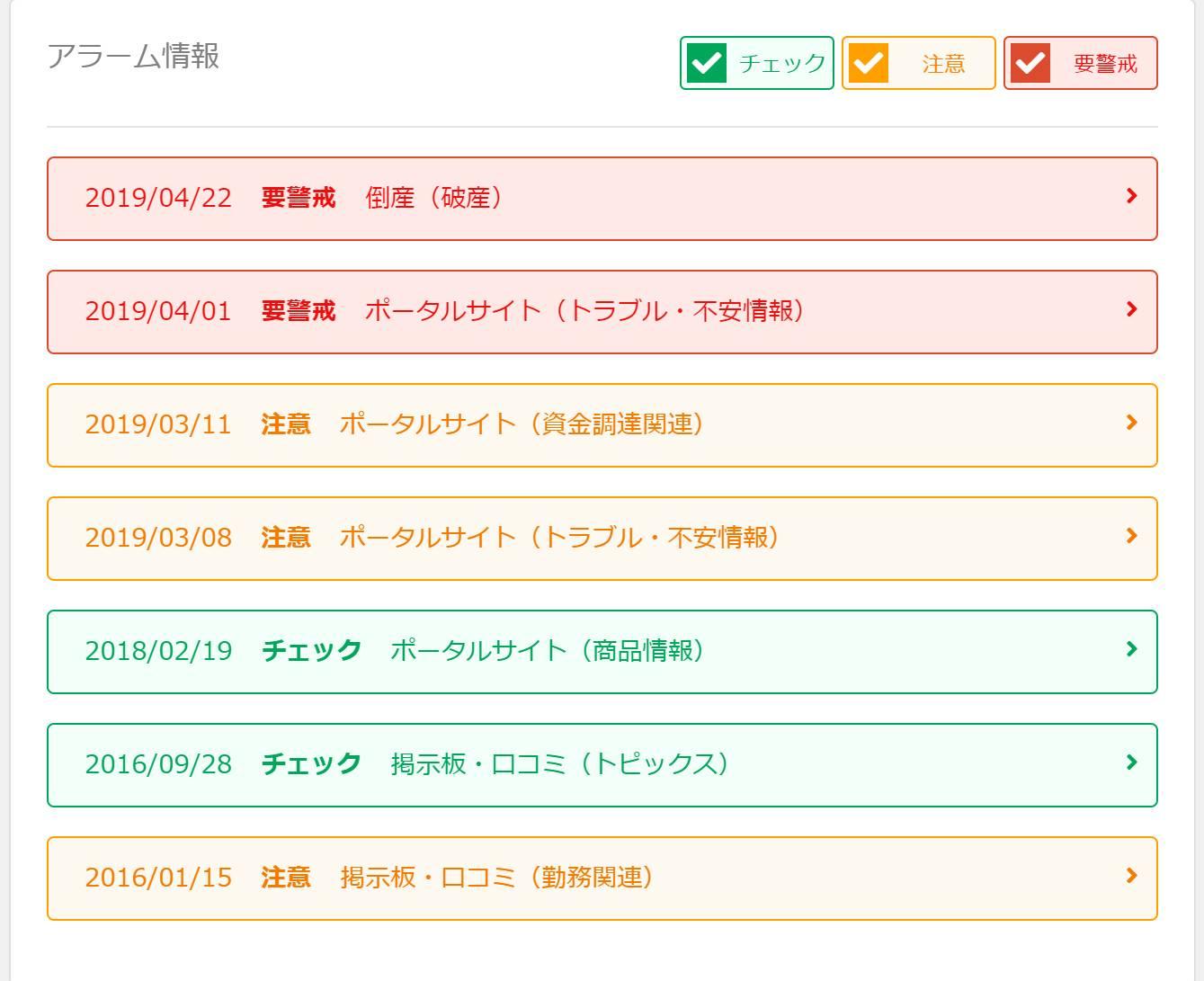 株式会社木乃幡 倒産情報